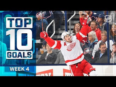Top 10 Goals from Week 4