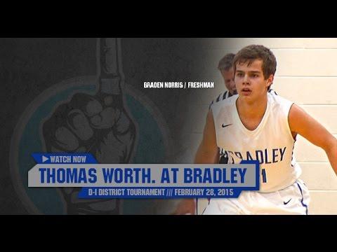 Hs Basketball Thomas Worthington At Hilliard Bradley Tournament