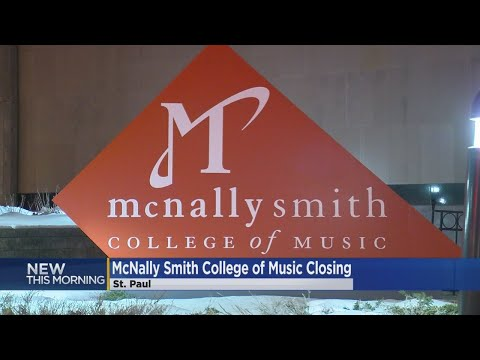 'Deeply Saddened': McNally Smith College Of Music Closing