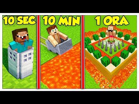 QUANTO CI METTI A COSTRUIRE UNA TRAPPOLA TROLL? - Minecraft ITA