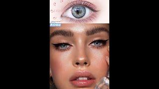 Easysmall небольшой красивый ученик цветной контактные линзы для глаз косметический солнцезащитные
