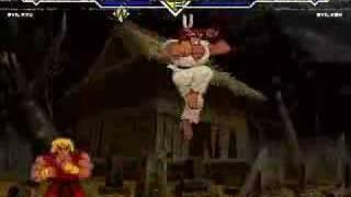 Evil Ken vs. Evil Ryu