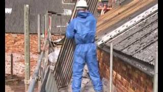 Lion Salt Works - Enabling Works - Removal of Asbestos Sheeting