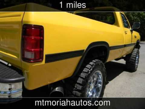 Mt Moriah Auto Sales >> 1991 Dodge W250 12 Valve Cummins over 20k invested Used ...