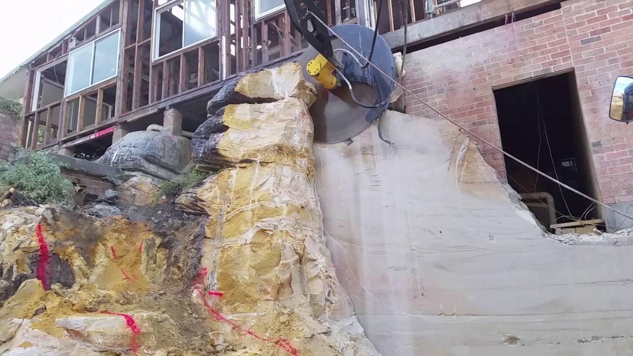 Ceecorp - Diamond Rock Saws - Excavation