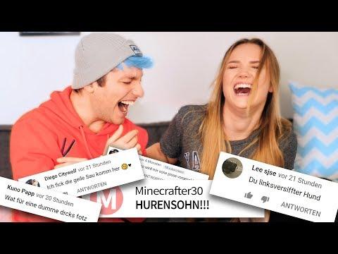 Wir Lesen HATE Kommentare An Julia & Mich!