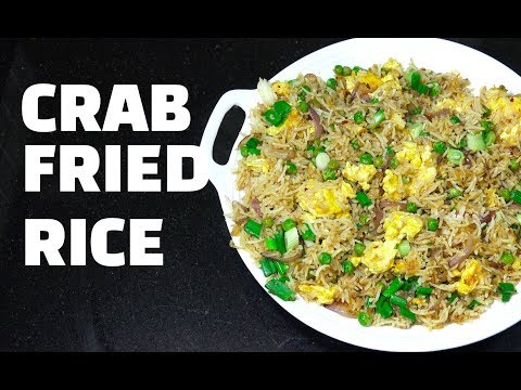 Crab Fried Rice - Canned Crab - Easy Fried Rice