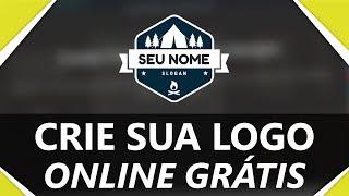 Como criar logotipos online grátis   SEM PROGRAMAS   VÁRIOS MODELOS