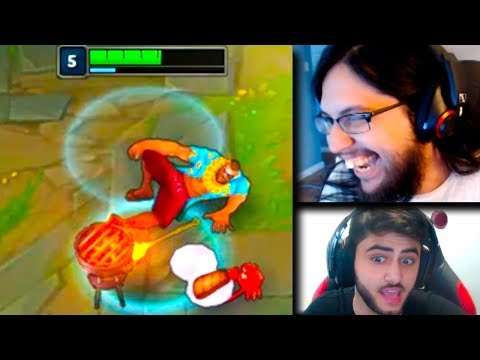 Imaqtpie Trolls Froggen ft Scarra | Hashinshin's Riot Games Impression | LoL Funny Moments