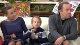 Владимир, Елизавета и Иван Девятовы на Первом канале в передаче Доброго здоровьица