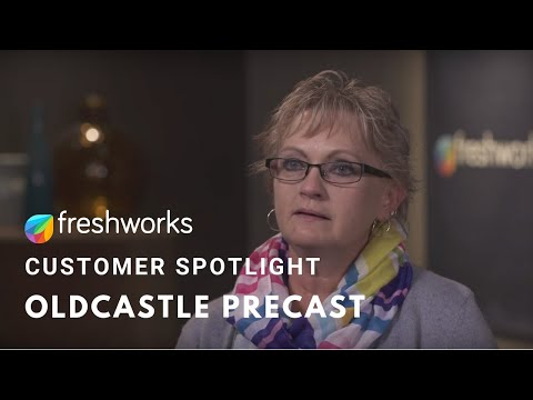 Freshworks Customer Story - OldCastle Precast