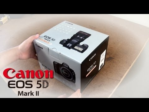 Canon EOS 5D Mark II Unboxing