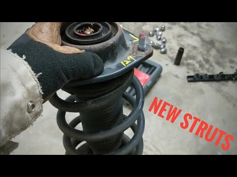 2011-2016 Hyundai Elantra Shock and Strut Replacement | How To / DIY