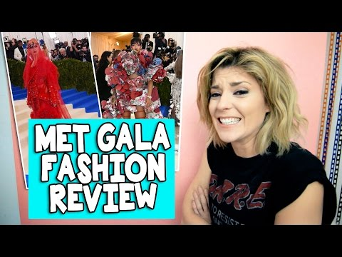 MET GALA FASHION REVIEW 2017 // Grace Helbig