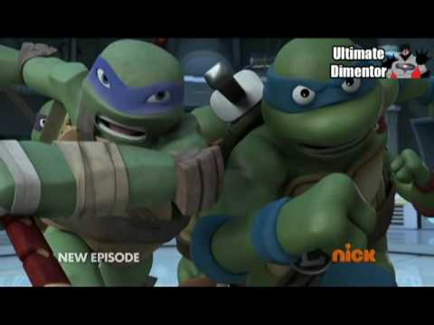 Teenage Mutant Ninja Turtles 80´s Opening 3D versión