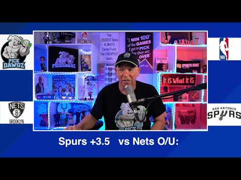 San Antonio Spurs vs Brooklyn Nets 3/1/21 Free NBA Pick and Prediction NBA Betting Tips