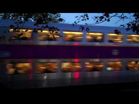 MBTA Commuter Rail Departing West Concord Station