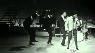 "James Brown performs and dances to ""Out of Sight"" to a live audience on the TAMI Show"