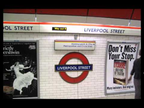 A-Z of the Underground (All the tube stations in one track)