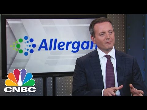 Allergan CEO Brent Saunders: Inside The Massive Deal With Pfizer | Mad Money | CNBC