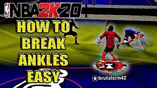 SECRET Tips to Get More ANKLE BREAKERS in NBA 2K20!