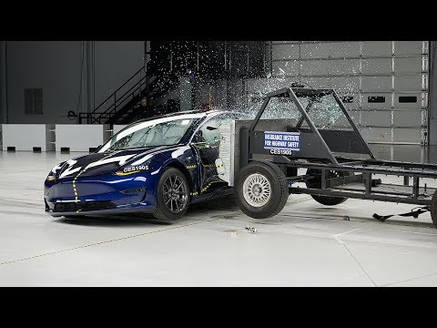 Tesla Model 3 named an IIHS Top Safety Pick+