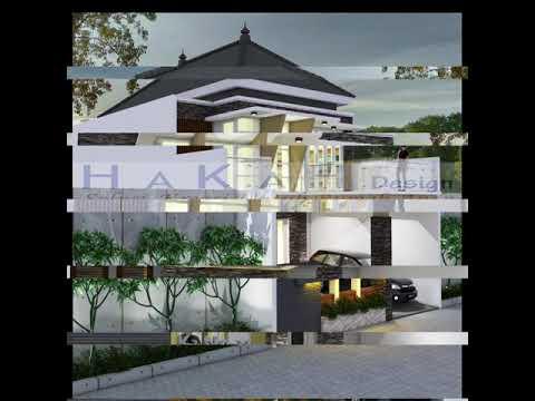 desain rumah 2 lantai - youtube