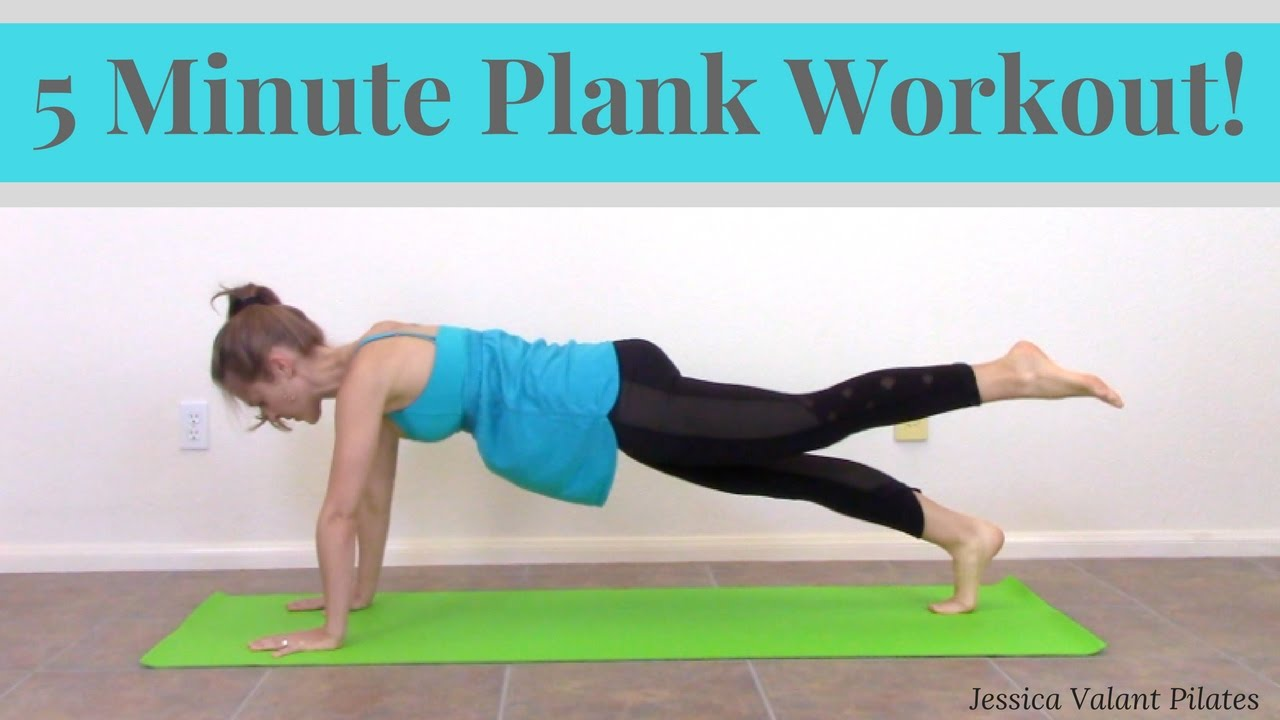 Watch The 5-Minute Pilates Workout You Need To Try If You Sit All Day video