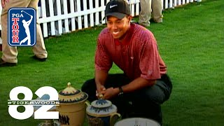Tiger Woods wins 2003 WGC-Accenture Match Play Championship Chasing 82