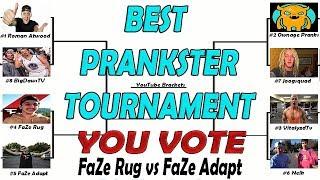 FaZe Rug BEST PRANKSTER? You Vote - Tournament