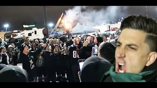 CRAZY TAILGATE PARTY!!!!  BURNING JERSEYS