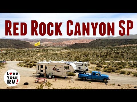 Red Rock Canyon State Park in California (Snowbird Trip 2017/18 Update)