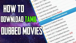 HOW TO DOWNLOAD TAMIL DUBBED HOLLYWOOD MOVIES 2019|VENKI TECHNICAL