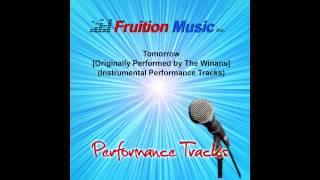 The Winans - Tomorrow (High Key) [Instrumental Track] SAMPLE