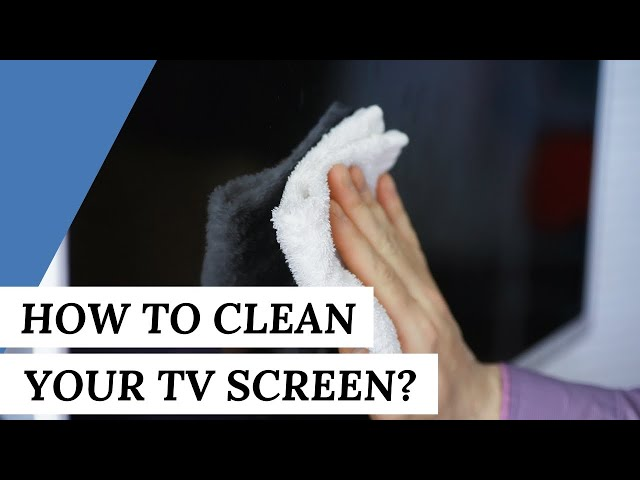 How To CLEAN Your TV Screen? | Cleaning Tips #short