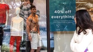 Posing Shirtless in Clothing Stores   Mannequin Challenge Extras