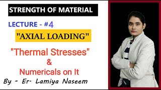 Strength Of Material | Lecture-4 | Thermal Stresses | SOM | GATE | IES | Target IES