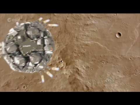 Agência espacial europeia investiga sumiço de robô em Marte