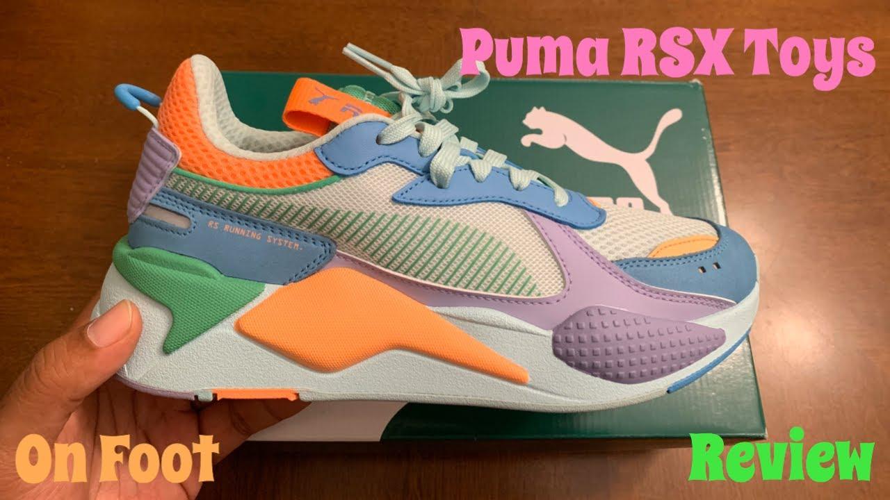 Women's Puma RSX Toys Unboxing