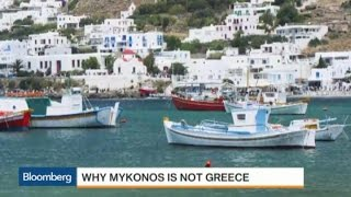 Mykonos Parties On While Greece Struggles With Debt
