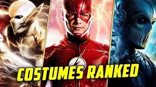 The Flash: Speedster Costumes RANKED!