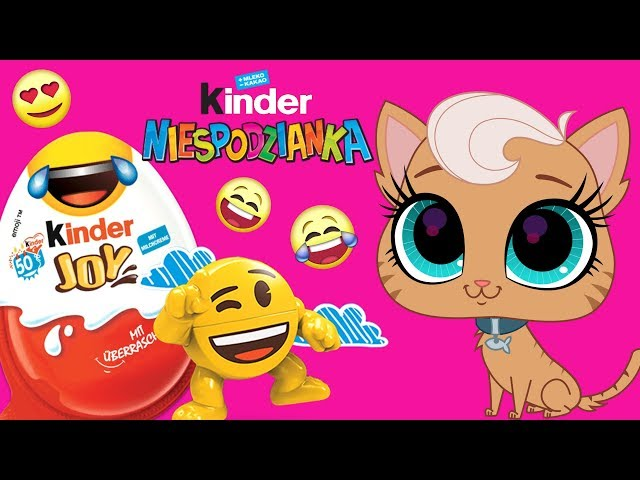 Littlest Pet Shop • Emotki • Kinder Joy • bajka po polsku