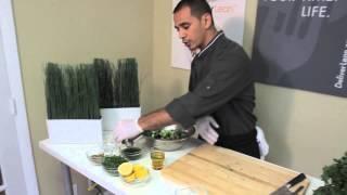 Deliverlean Chef James | Quinoa Kale Cranberry Salad