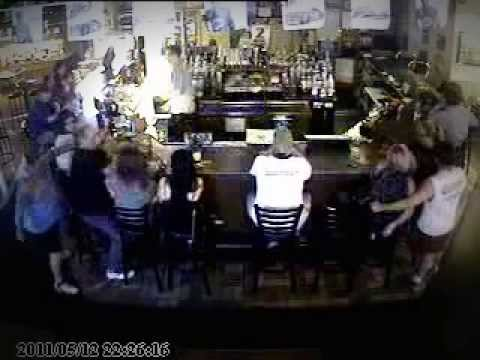 Sucker-Punched at Referee's Sports Bar, Citrus Heights, Ca.