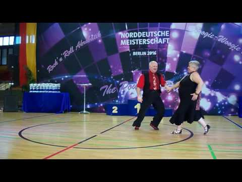 NDM 2016 Berlin, Boogie Woogie Senior A Slow-Final, Michael & Beate