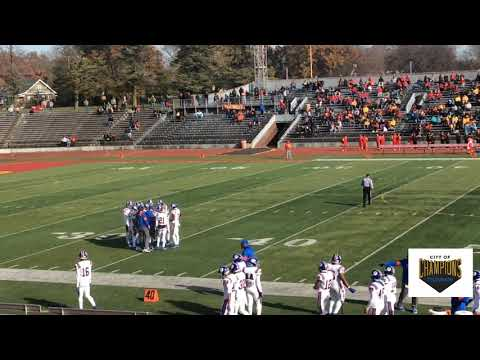 East St Louis Flyers / Rock Island Rocks Playoffs Football Game 11/9/2019