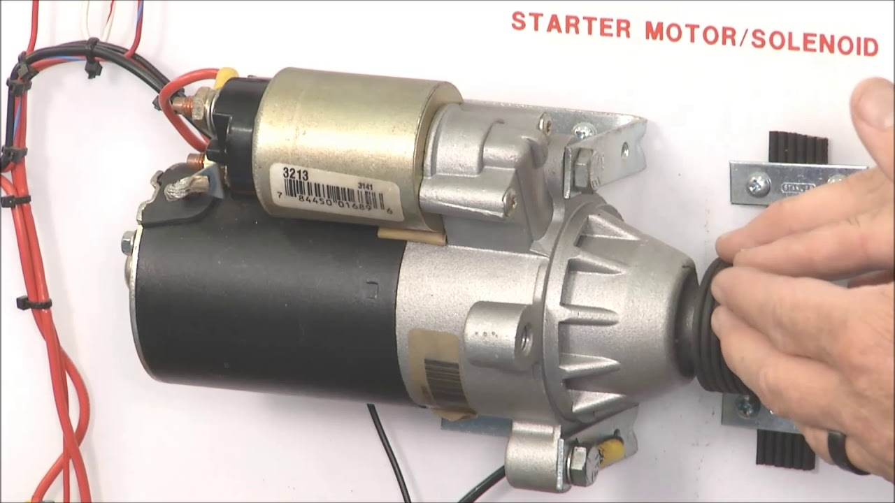 Starter Motor Problems >> Starter Motor Problems Caused By Voltage Drop Shims To Correctly Position Starter