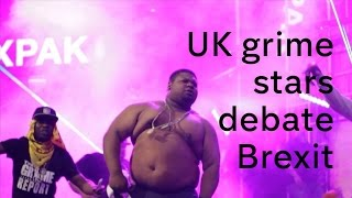 What do the grime music scene make of Brexit?