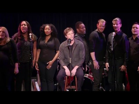 """Beautiful City"" - Hunter Parrish, Stephen Schwartz & Broadway Inspirational Voices"