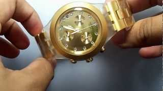 Swatch SVCK4032G Irony Full Blooded Gold Chronograph Date